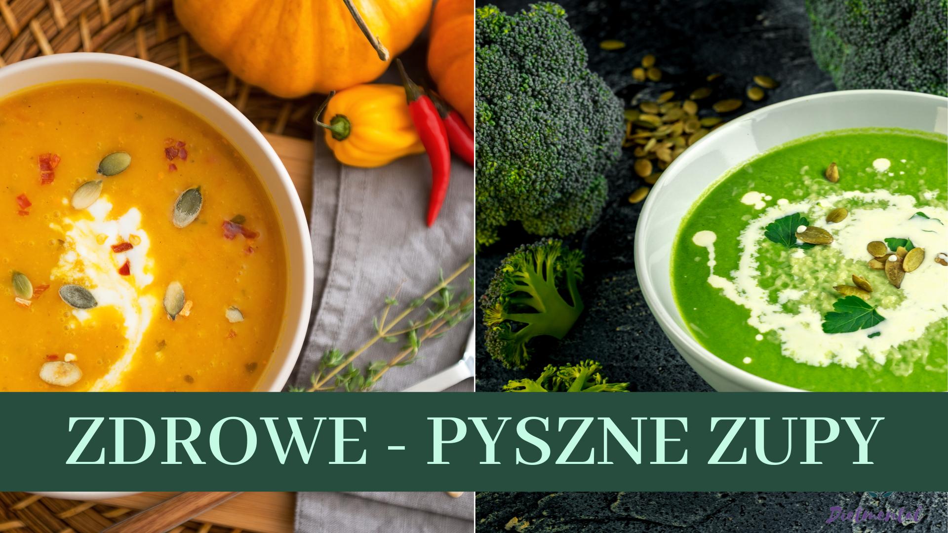 zdrowe pyszne zupy zupa krem dyniowa